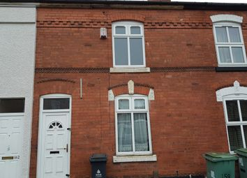Thumbnail 3 bed terraced house for sale in Dale Street, Walsall