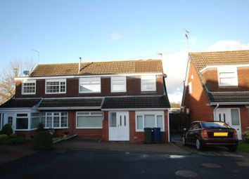 Thumbnail 5 bed semi-detached house for sale in Hersham Close, Kingston Park, Newcastle Upon Tyne