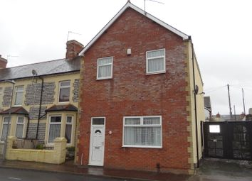 Thumbnail 4 bed end terrace house for sale in St. Marys Avenue, Barry