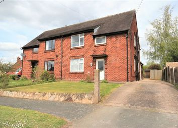 Thumbnail 3 bed semi-detached house for sale in Festival Avenue, Buerton, Crewe