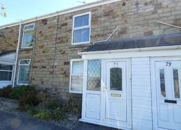 Thumbnail 3 bed terraced house to rent in Weardale Street, Spennymoor
