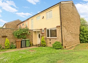 Thumbnail 3 bedroom end terrace house for sale in Risby, Bretton, Peterborough, Cambridgeshire.