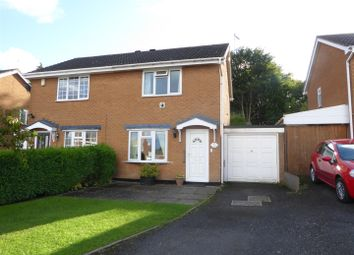 Thumbnail 2 bed property for sale in Walker Crescent, St. Georges, Telford