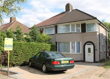 Thumbnail 3 bed semi-detached house to rent in Hermitage Way, Stanmore