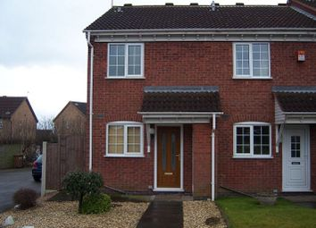 Thumbnail 2 bed semi-detached house to rent in Prestbury Close, Oakwood, Derby