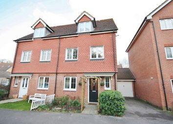 Thumbnail 3 bed semi-detached house for sale in Eliot Close, Whiteley, Fareham
