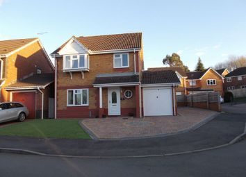 Thumbnail 3 bed detached house for sale in Waterdown Close, Swindon