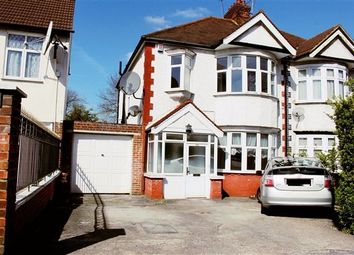 Thumbnail 4 bedroom semi-detached house to rent in Watford Way, Hendon