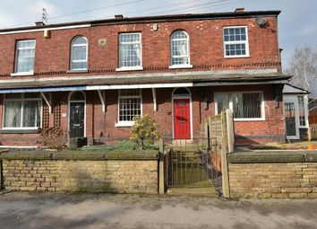 Thumbnail 3 bed terraced house for sale in Commercial Road, Hazel Grove, Stockport, Cheshire