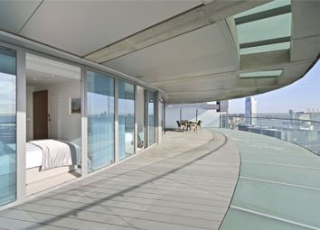 Thumbnail 2 bed flat for sale in Arena Tower, 25 Crossharbour Plaza, London