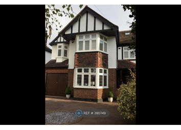 Thumbnail 5 bed semi-detached house to rent in Stewart Avenue, Upminster