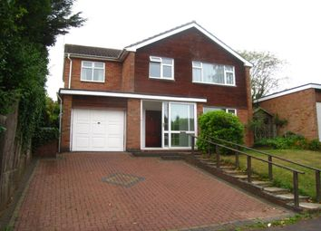 Thumbnail 4 bed detached house for sale in Leigh Avenue, Finham, Coventry