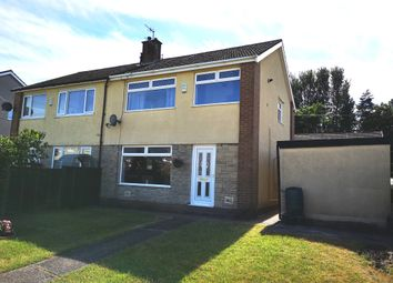 Thumbnail 3 bed semi-detached house for sale in St. Christophers Drive, Caerphilly