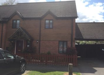 Thumbnail 2 bed semi-detached house for sale in Meadow Close, Romsey