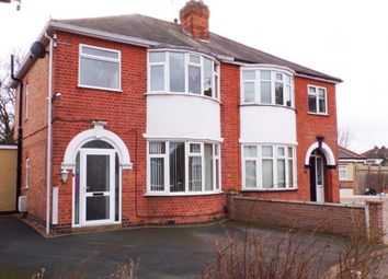 Thumbnail 3 bed semi-detached house for sale in Kew Drive, Wigston, Leicester, Leicestershire
