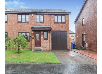 Thumbnail 4 bed semi-detached house for sale in Robertson Way, Livingston