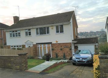 Thumbnail 3 bed semi-detached house for sale in Snodhurst Avenue, Chatham, Kent.