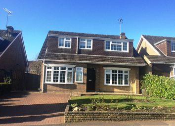 Thumbnail 4 bed detached house to rent in Badger Drive, Lightwater