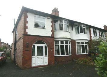 Thumbnail 4 bedroom semi-detached house to rent in Ashton Lane, Sale