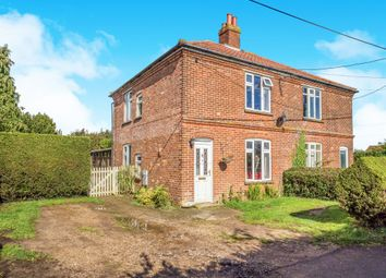 Thumbnail 3 bedroom semi-detached house for sale in Stonefield Road, Baconsthorpe, Holt