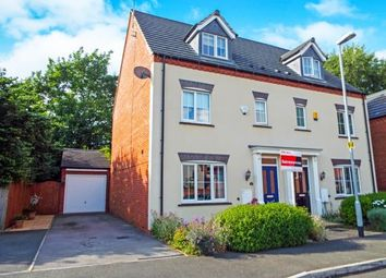 Thumbnail 4 bed semi-detached house for sale in Fieldfare Close, Bramcote, Nottingham