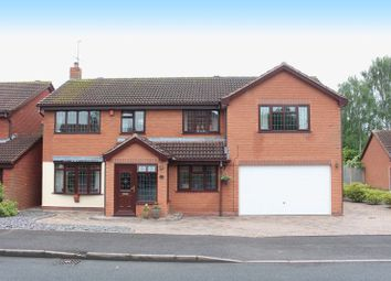 Thumbnail 5 bed detached house for sale in Ostler Close, Kingswinford