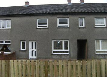 Thumbnail 3 bed terraced house to rent in Broomieknowe, Tullibody, Alloa