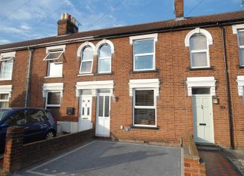 Thumbnail 2 bed terraced house to rent in Tomline Road, Ipswich