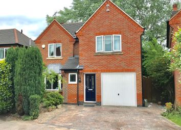Thumbnail 4 bed detached house for sale in Poppy Close, Groby, Leicester
