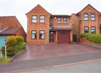 Thumbnail 4 bed detached house for sale in Hodnet Place, Cannock
