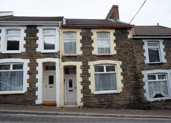 Thumbnail 3 bed terraced house for sale in Tower Street, Pontypridd