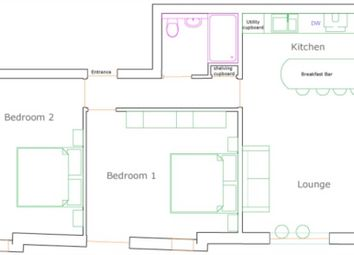 Thumbnail 2 bed flat for sale in Hungate, Lincoln