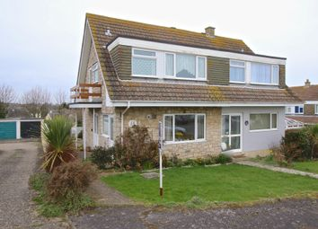 Thumbnail 3 bed semi-detached house for sale in Benlease Way, Swanage