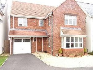 Thumbnail 4 bed detached house to rent in Burrows Close, Southgate, Swansea