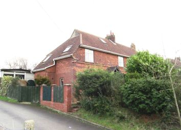 Thumbnail 3 bedroom semi-detached house for sale in Newton Road, Stowmarket