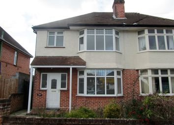 Thumbnail 3 bedroom semi-detached house to rent in Twyford Avenue, Shirley, Southampton