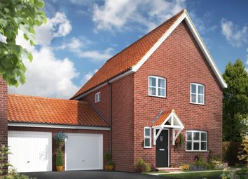 Thumbnail 3 bed link-detached house for sale in The Signals, Norwich Road, Watton