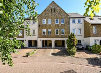 Thumbnail 4 bed terraced house for sale in Wraysbury Gardens, Staines-Upon-Thames, Surrey