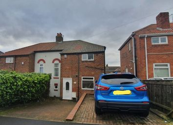 Thumbnail 2 bed semi-detached house for sale in Western Avenue, West Denton, Newcastle Upon Tyne