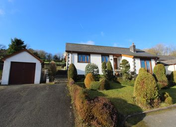 Thumbnail 4 bed detached bungalow for sale in Brynawelon, Llanwenog, Llanybydder