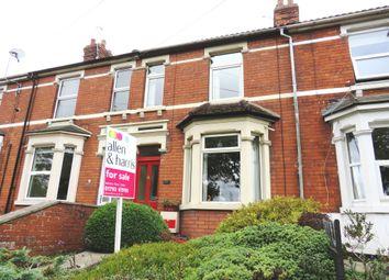 Thumbnail 2 bed terraced house for sale in Wootton Bassett Road, Swindon