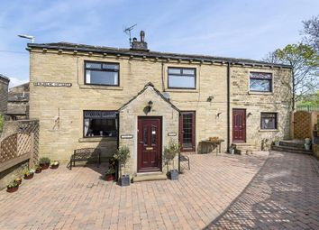 Thumbnail 4 bedroom detached house for sale in Newholme Cottages, Wainstalls, Halifax