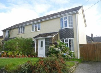 Thumbnail 2 bed semi-detached house to rent in Penstowe Road, Kilkhampton, Cornwall