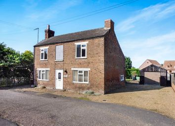 Thumbnail 4 bedroom detached house for sale in Bunkers Hill, Wisbech St. Mary, Wisbech