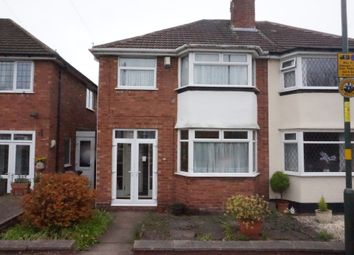 Thumbnail 3 bedroom semi-detached house for sale in Rutherford Road, Erdington, Birmingham.