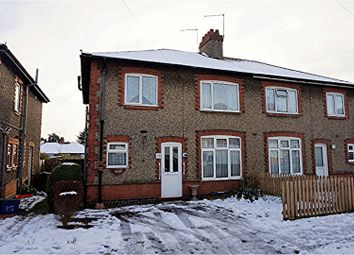 Thumbnail 3 bedroom semi-detached house for sale in Saxon Street, Abington, Northampton