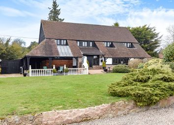 Thumbnail 4 bed detached house for sale in Brinsop Barn, Stretton Grandison, Ledbury, Herefordshire