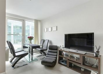 Thumbnail 2 bedroom flat for sale in Aquarius House, 15 St George Wharf, London