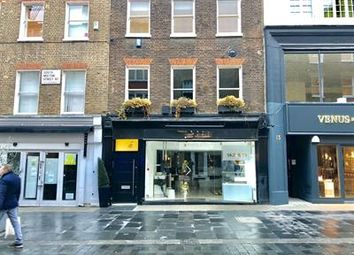 Retail premises to let in South Molton Street, London W1K