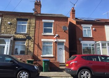 Thumbnail 2 bed terraced house to rent in Newnham Road, Stoke